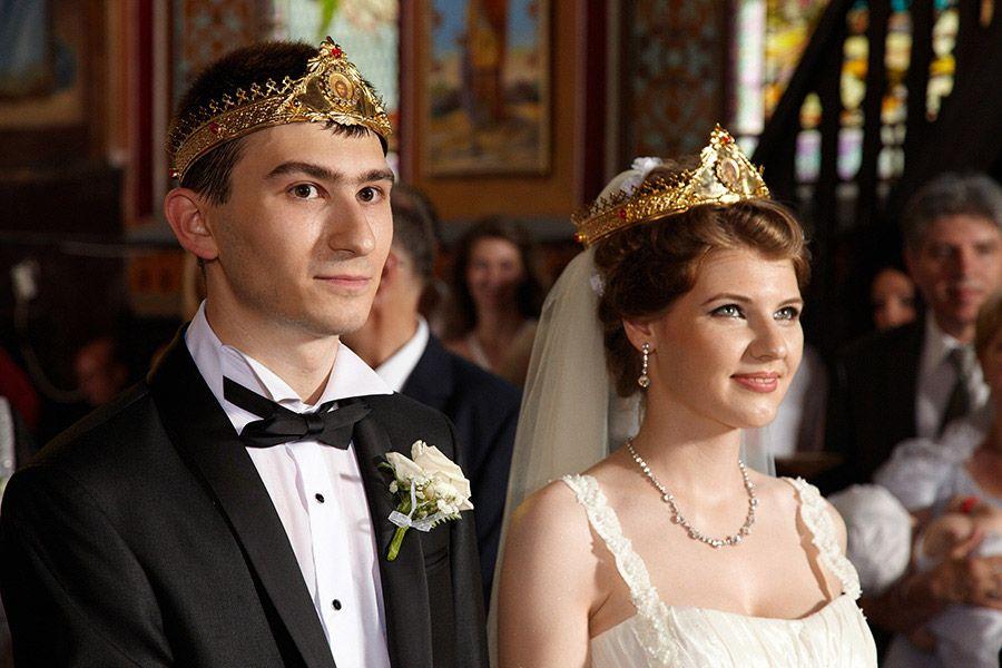 poza nunta in biserica iluminare profesionala