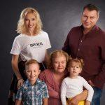 familie mare in studio