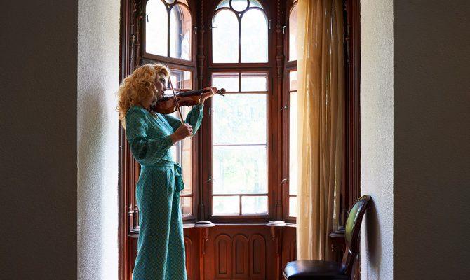Shooting in Domeniu Stirbey