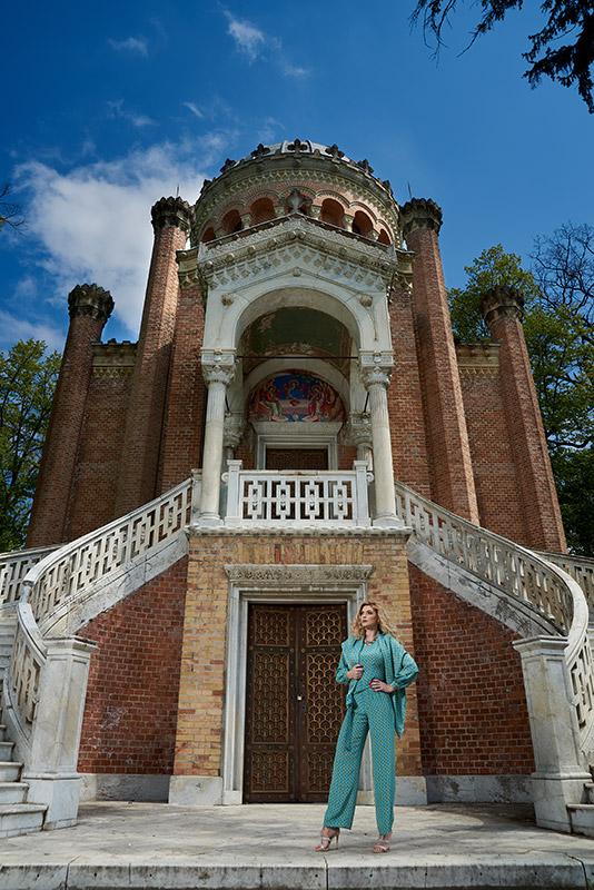 fotomodel la capela de pe domeniul Stirbey