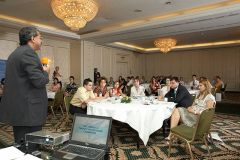 audienta captivata la conferinta