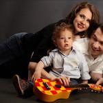 foto familie in studio la gramada