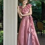 rochie adolescenta fotomodel la coloana