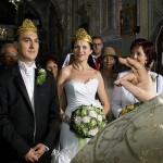 binecuvantarea preotului peste incoronati