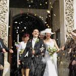 nunta iese din biserica