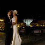 mirii in piata Sfatului din Brasov noaptea