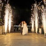 artificii profesionale la nunta
