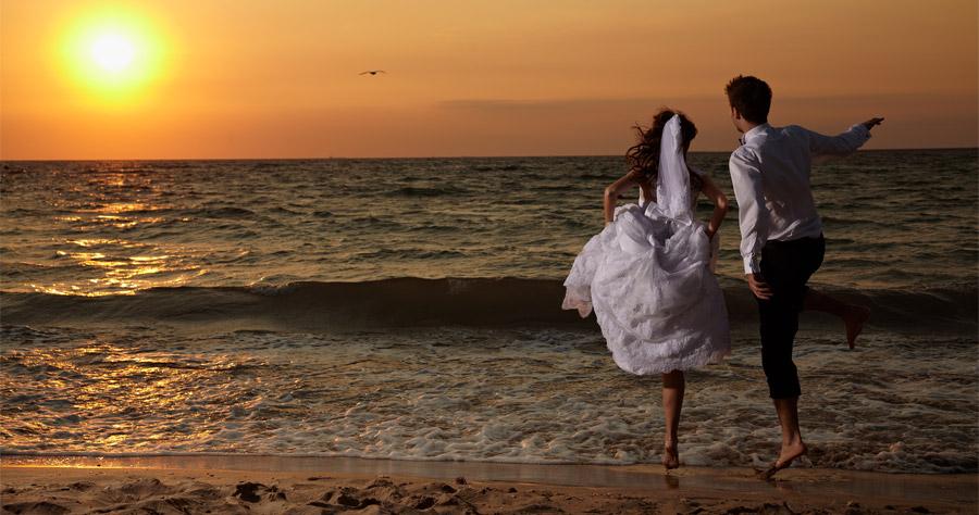 trash the dress dupa nunta la mare