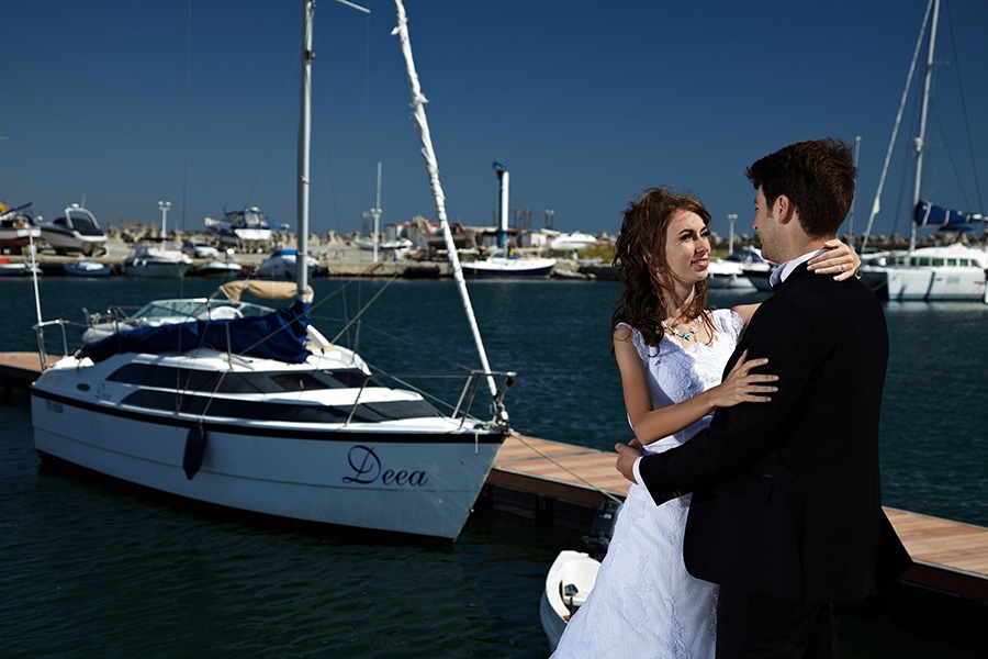 fotografii dupa nunta in sedinta TTD