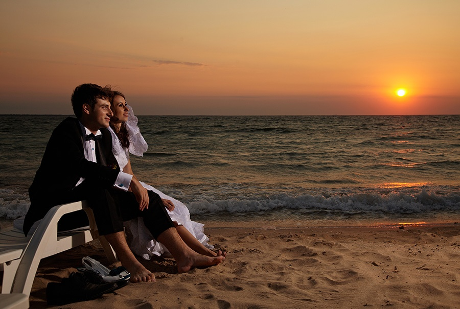 sedinta foto trash the dress la mare